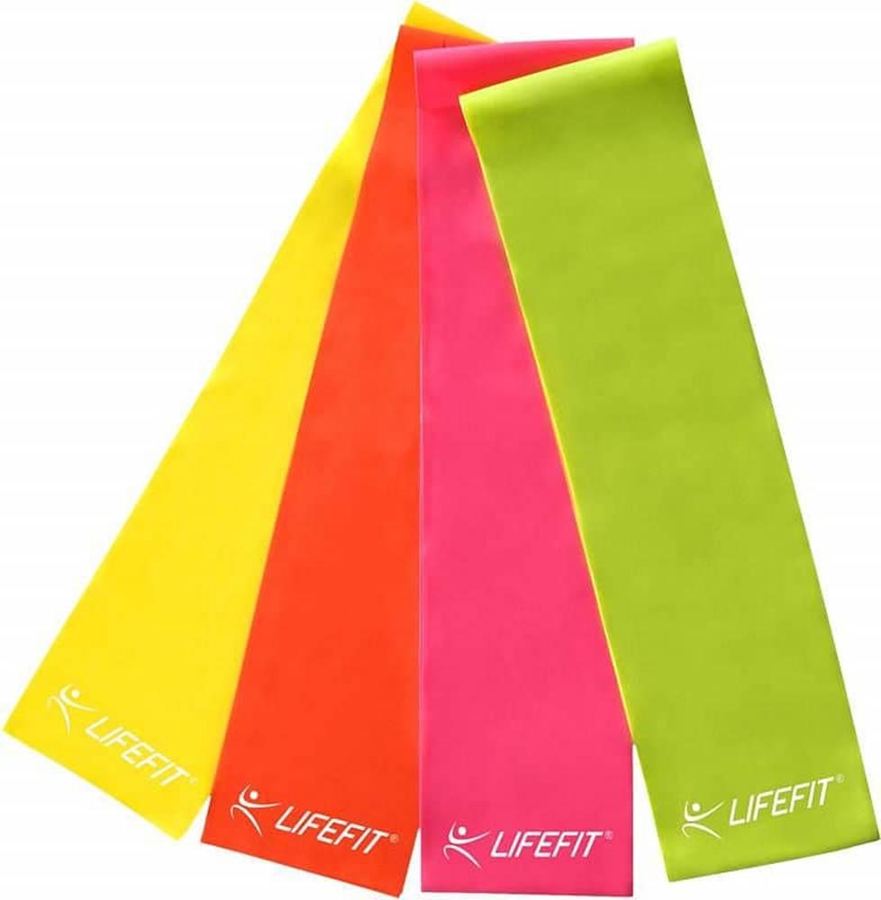 Lifefit Posilovací guma LIFEFIT FLEXBAND 0,45, žlutá