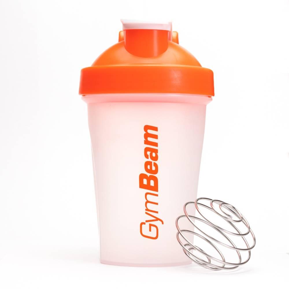 GymBeam GymBeam Šejker Blend Bottle priesvitno-oranžový 400 ml