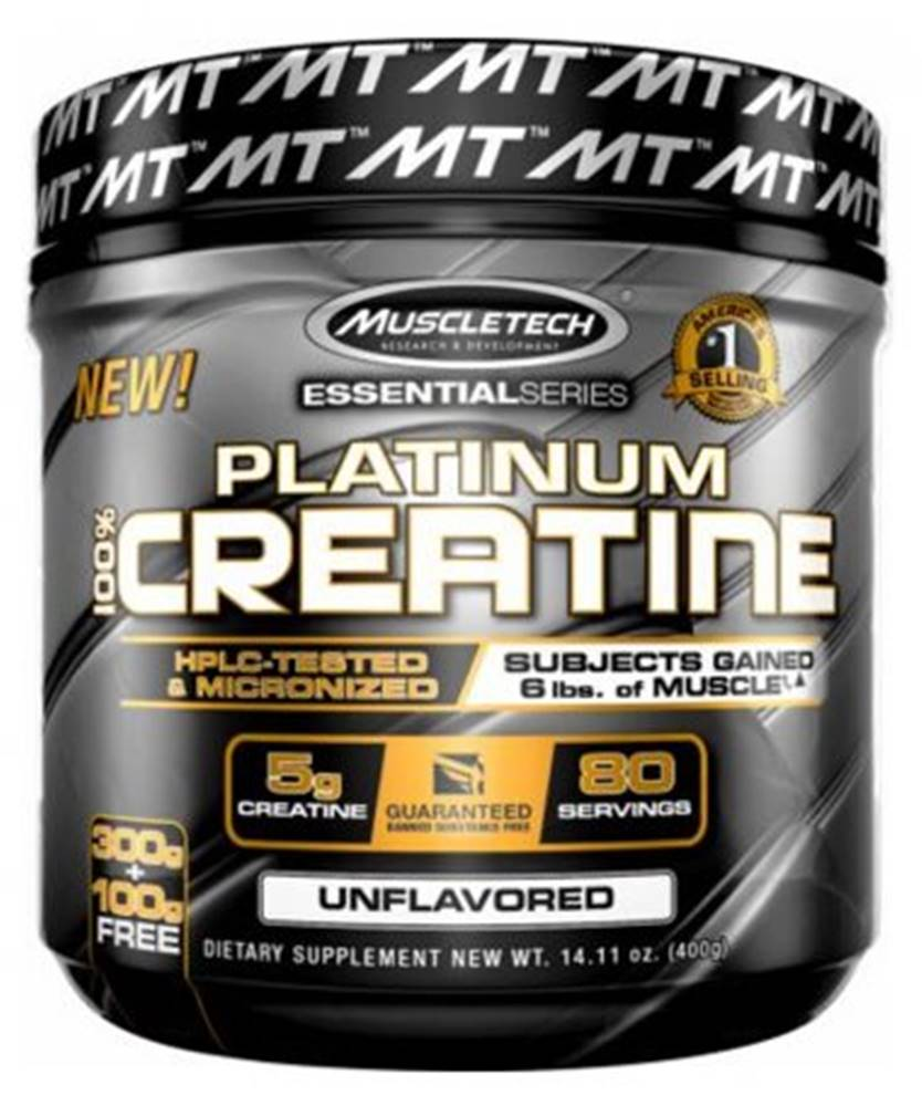 MuscleTech MuscleTech Platinum Creatine 400 g
