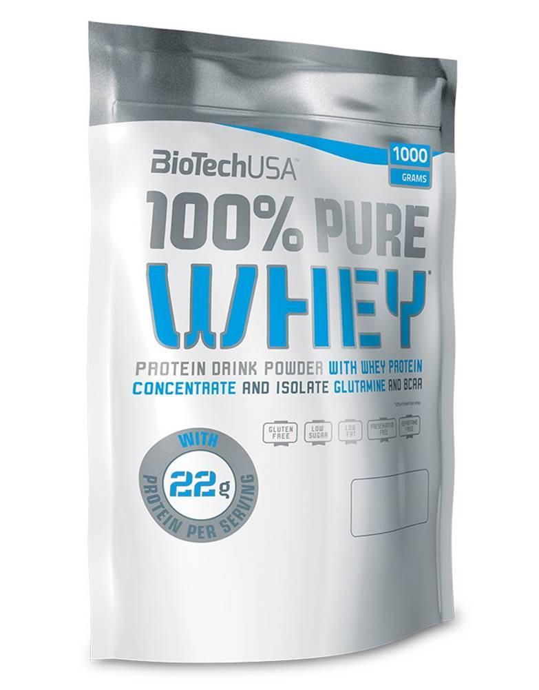 Biotech USA BioTech USA BioTech 100% Pure Whey 1000 g variant: banán