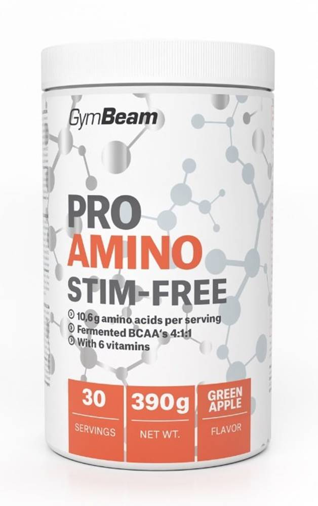 GymBeam Pro Amino Stim-Free - GymBeam 390 g Green Apple