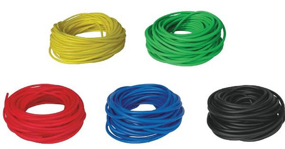 LivePro BAND TUBING - Odporová posilovací guma - LATEX FREE - 7,5m - Modrá - Těžká