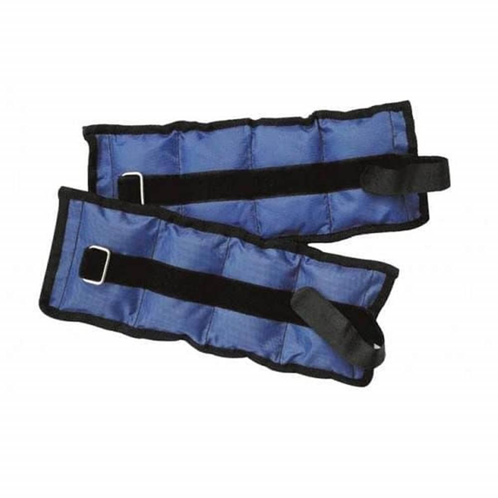 Sedco Zátěž zápěstí/kotníky SEDCO NYLON 2X1,0KG - Modrá