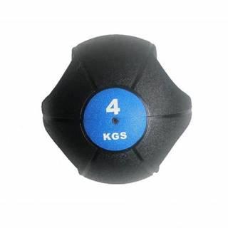 Míč medicinbal dual grip 4 kg AKCE