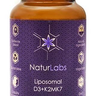 NaturLabs Lipozomálne vitamín D3 + K2 30 kapsúl
