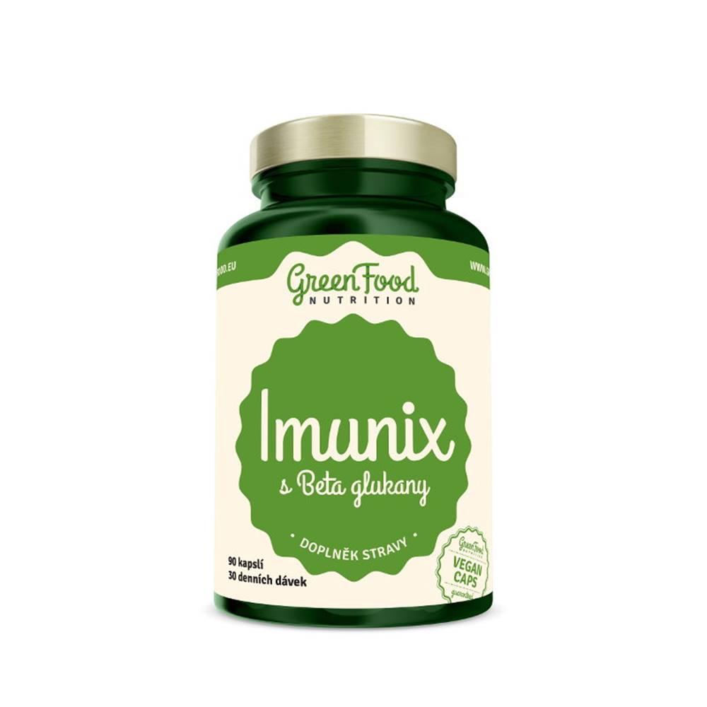 GreenFood GreenFood Imunix s Beta glukánmi 90 kapsúl