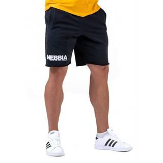 Pánske šortky Nebbia Legday Hero 179 Black - M