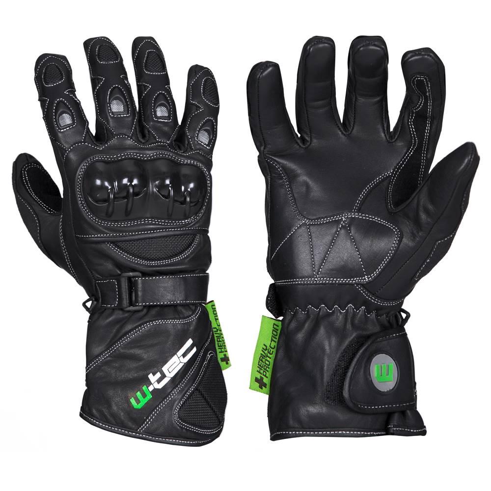 W-Tec W-TEC motocyklové rukavice SUPREME TWG-171 čierna - 3XL