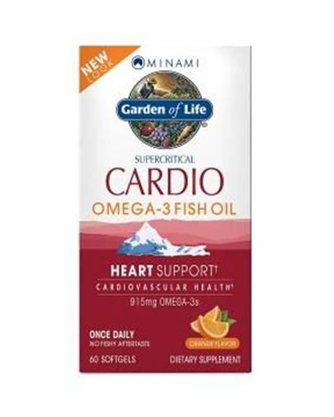 Garden of life Minami Cardio Omega-3 - s příchutí pomeranče