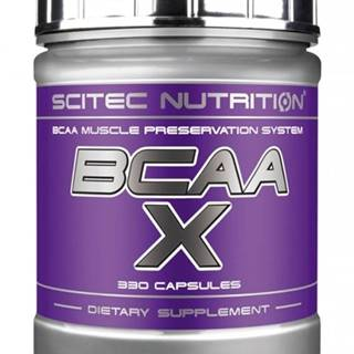 BCAA-X - Scitec Nutrition 120 kaps