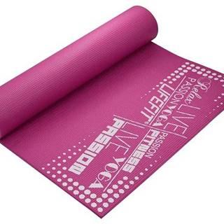Gymnastická podložka LIFEFIT SLIMFIT PLUS, 173x58x0,6cm, bordó