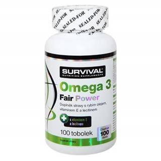 Survival Omega 3 fair power 100 tablet 100kps.