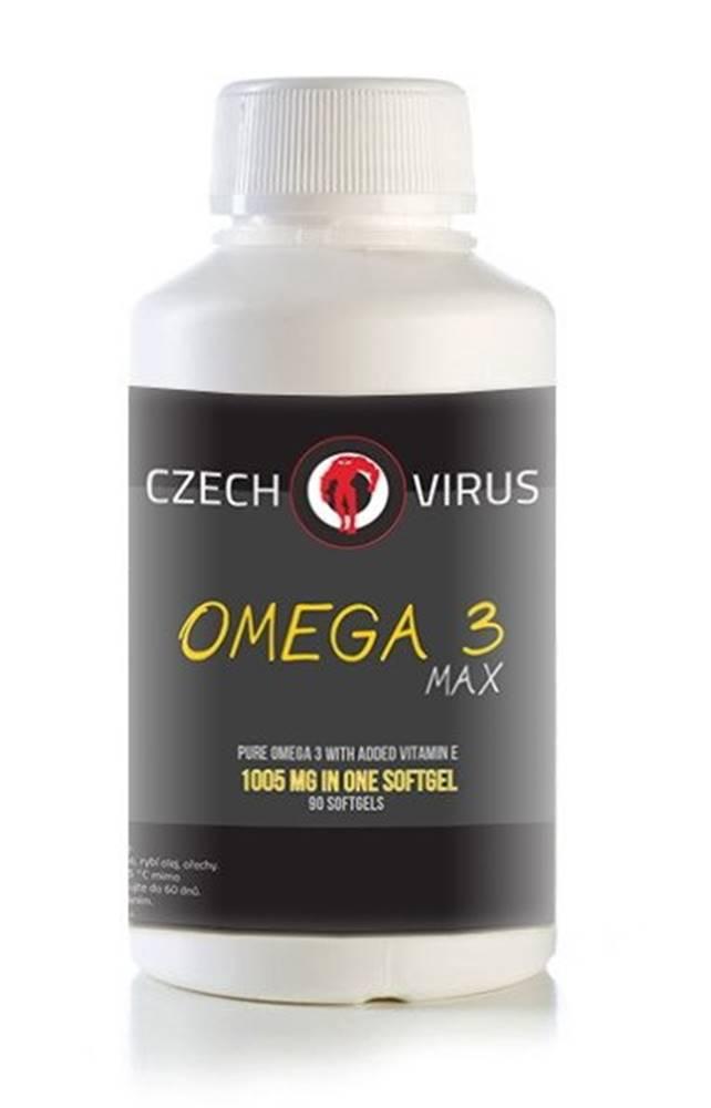 Czech Virus Omega 3 Max - Czech Virus 90 softgels