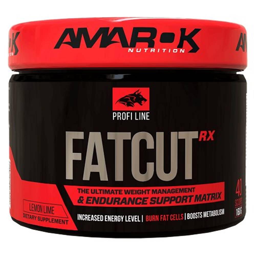 Amarok Nutrition Profi Line FatCutRX - Amarok Nutrition 160 g Lemon Lime