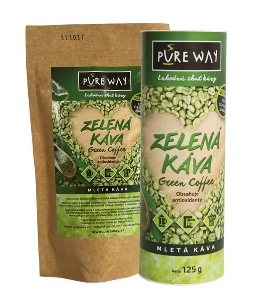 Zelená káva Pure Way - Nutr...