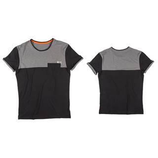 Pánske tričko Jobe Discover Nero M