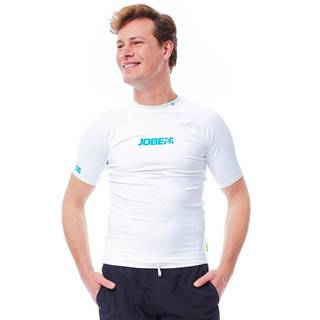 Pánske tričko na vodné športy Jobe Rashguard biela - S