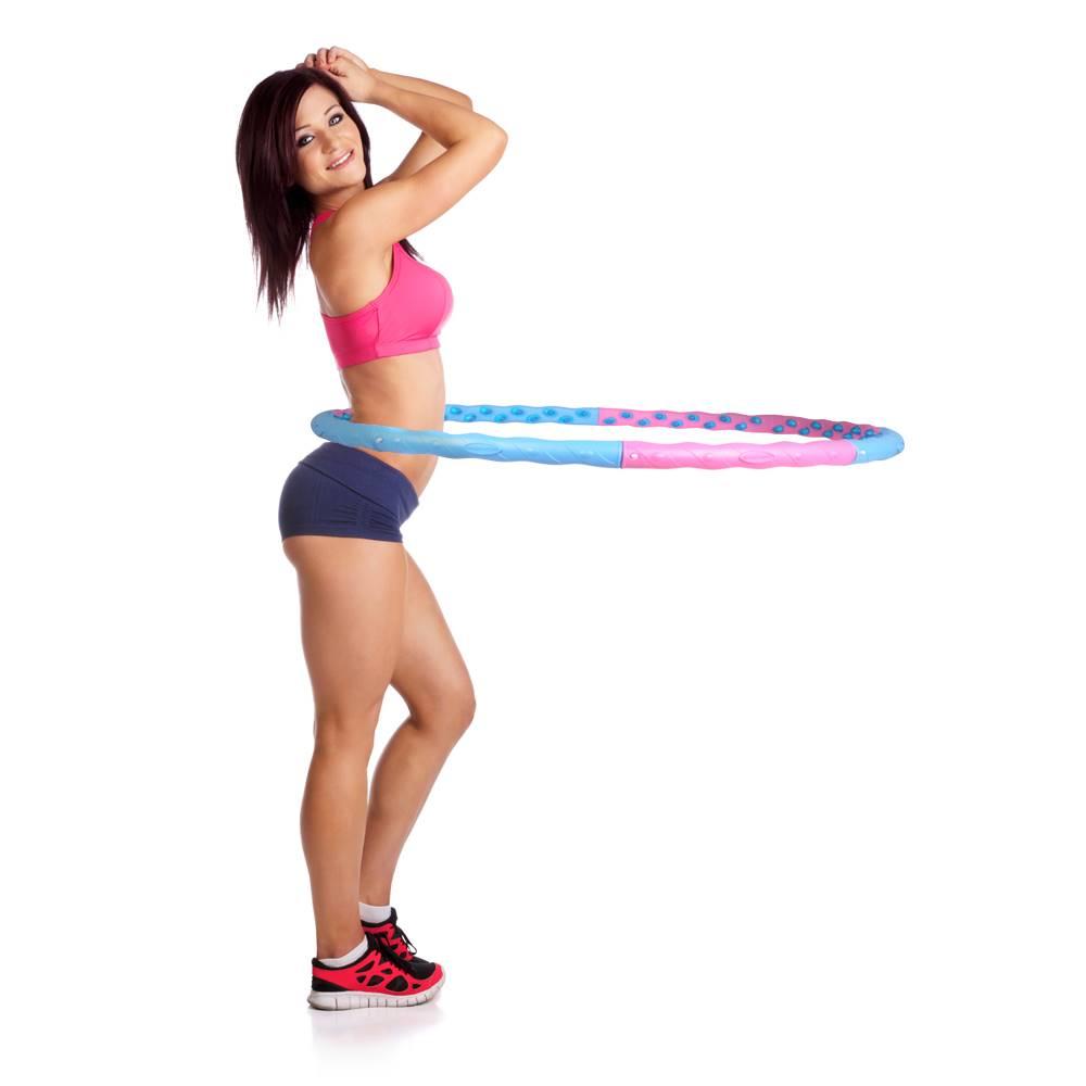 Insportline Obruč inSPORTline Weight Hoop Magnetic 110 cm