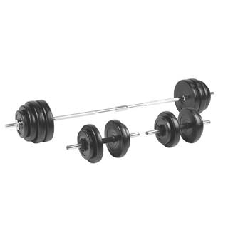 Nakladací činkový set inSPORTline BS208 3-50 kg