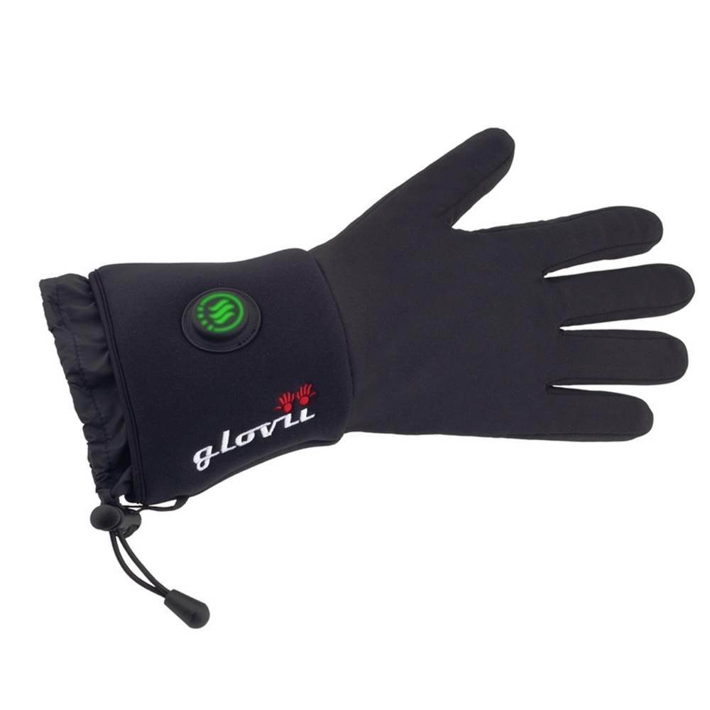 Glovii Univerzálne vyhrievané rukavice Glovii GL čierna - XXS-XS