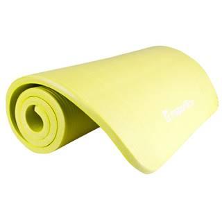 Podložka na cvičenie inSPORTline Fity 140 x 61 cm zeleno-žltá