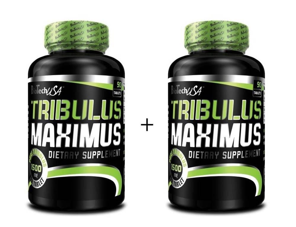 Biotech USA 1+1 Zadarmo: Tribulus Maximus - Biotech USA 90 kaps + 90 kaps