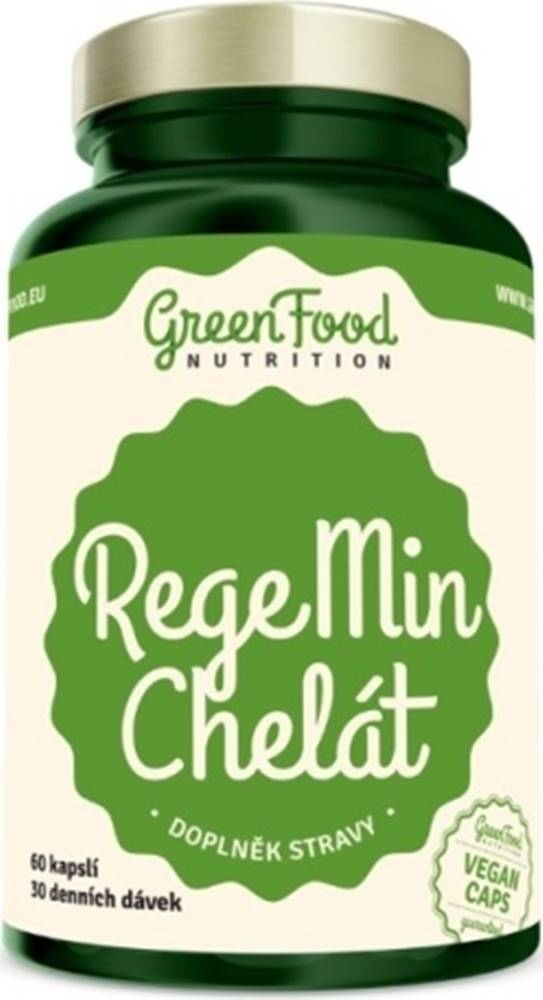 GreenFood GreenFood RegeMin Chelát 60 kapsúl