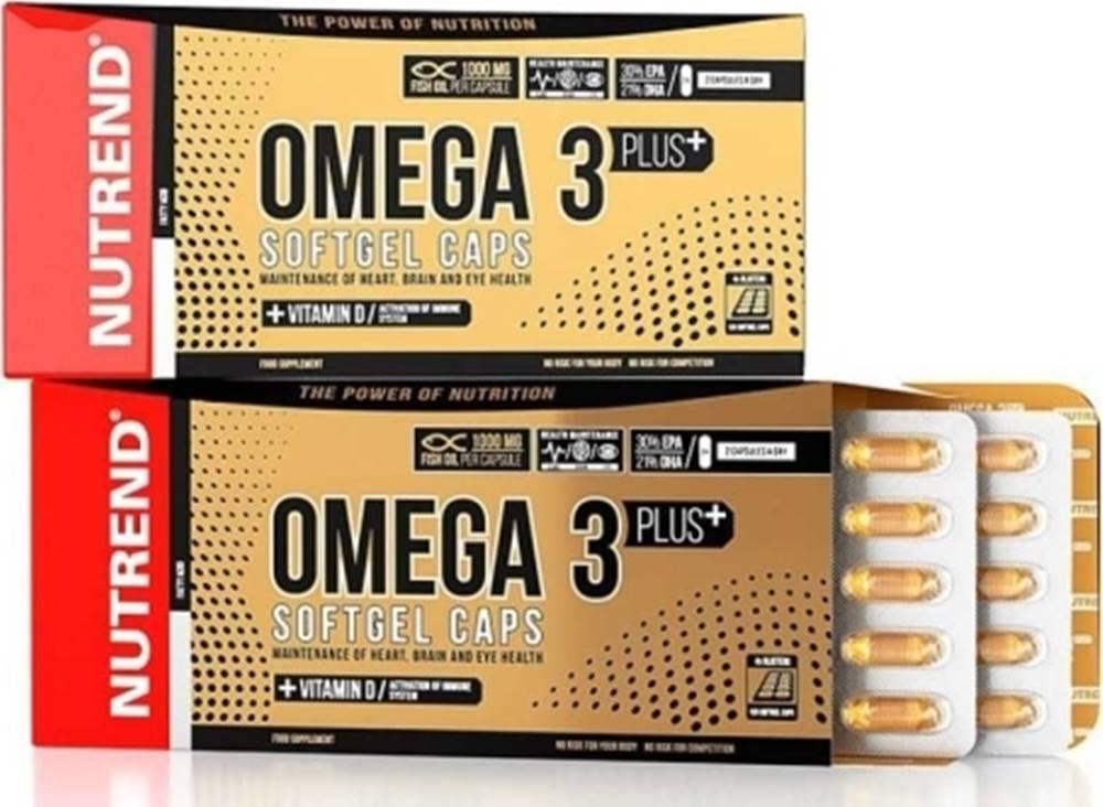 Nutrend Nutrend Omega 3 Plus Softgel Caps 120 kapsúl