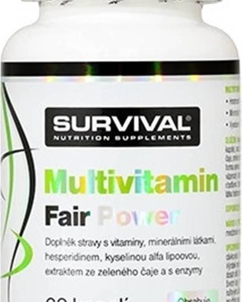 Survival Survival Multivitamín Fair Power 60 kapsúl