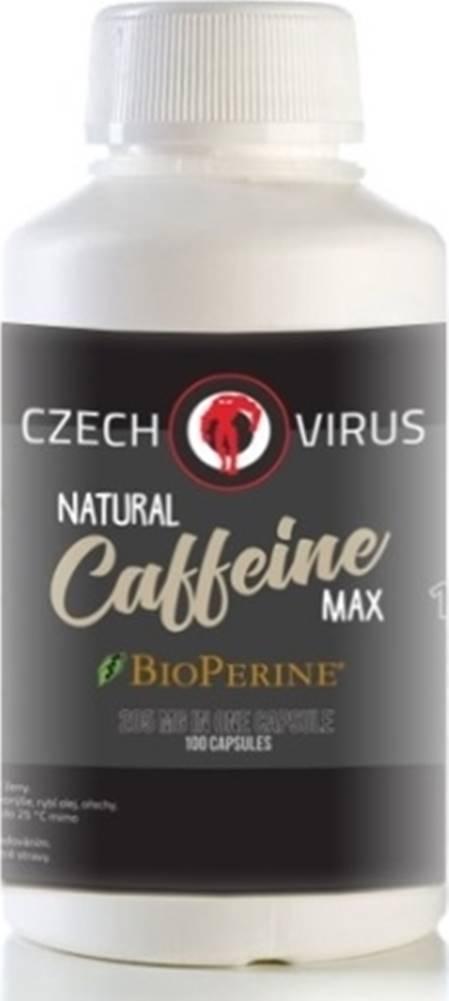 Czech Virus Czech Virus natural Caffeine Max 100 kapsúl