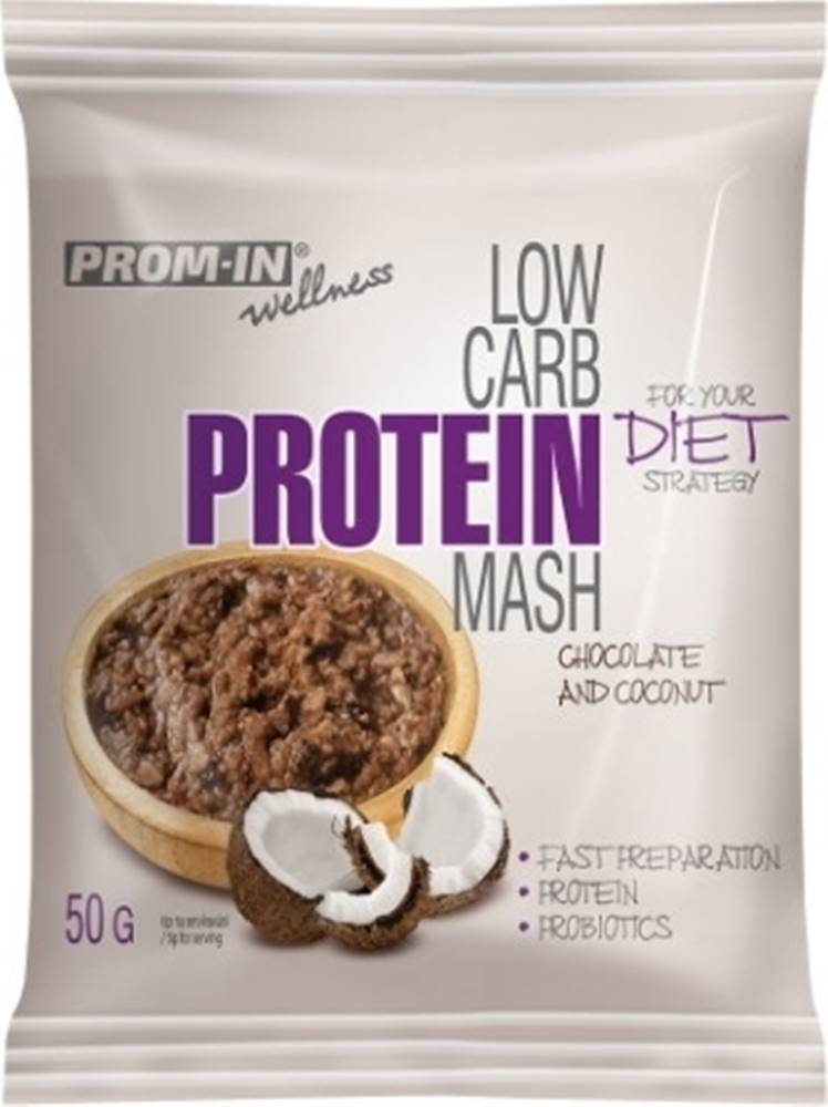 Prom-IN Prom-IN Low Carb Protein Mash 50 g variant: hruška