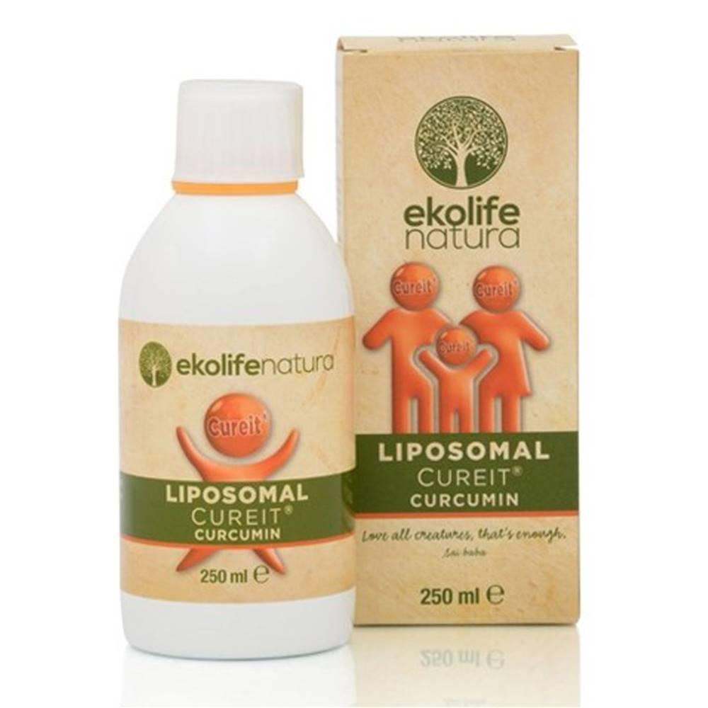 Ekolife Natura Ekolife Natura Liposomal CureIt Curcumin (Lipozomálny CureIt kurkumín) 250 ml