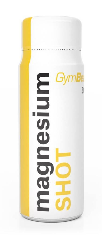 GymBeam Magnesium Shot - GymBeam 60 ml. Lemon