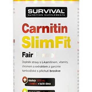 Survival Carnitin SlimFit Fair Power 1000 ml variant: broskyňa